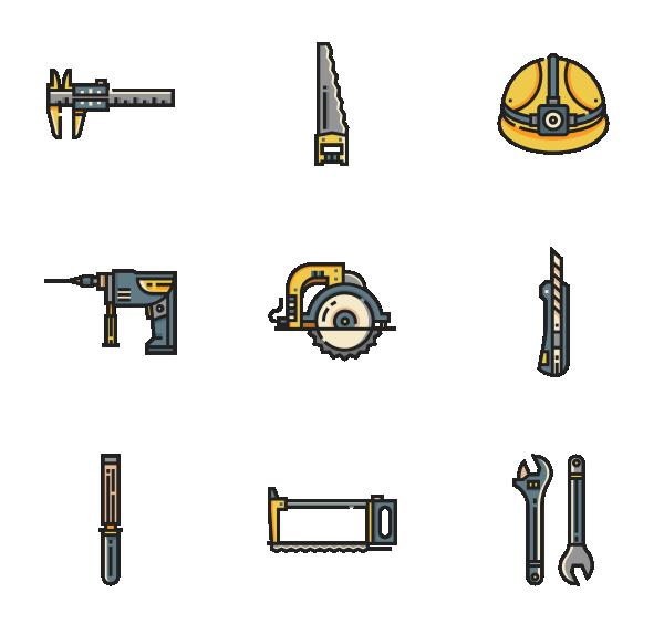 施工工具图标