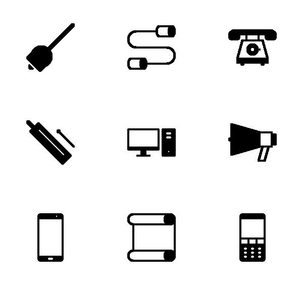 通讯工具图标
