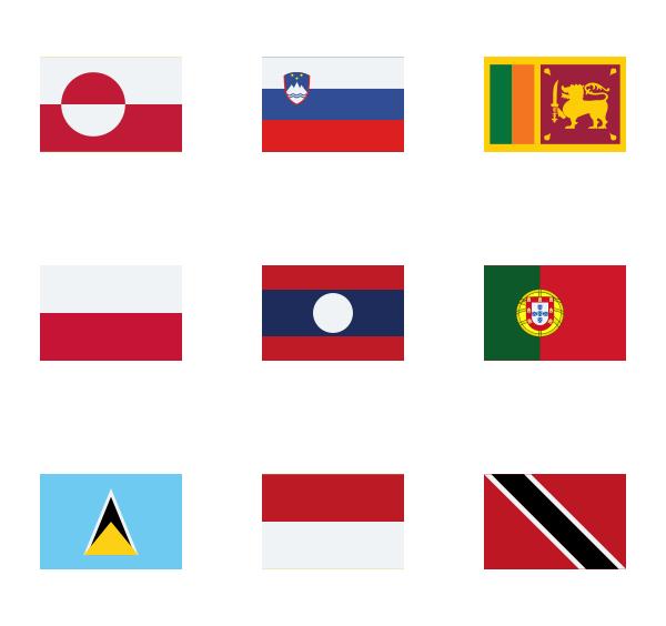 世界旗帜图标