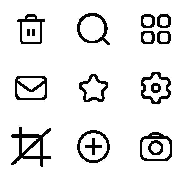 通用UI图标