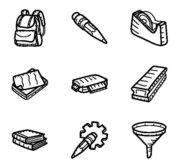 科学教育图标
