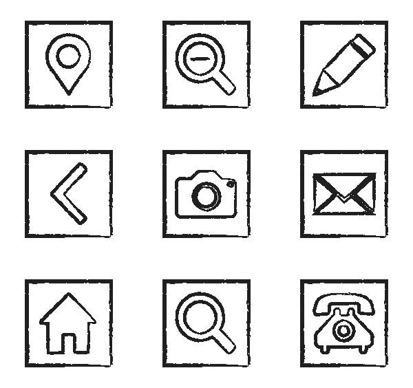 网站样式UI图标