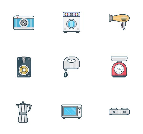 家用电器图标