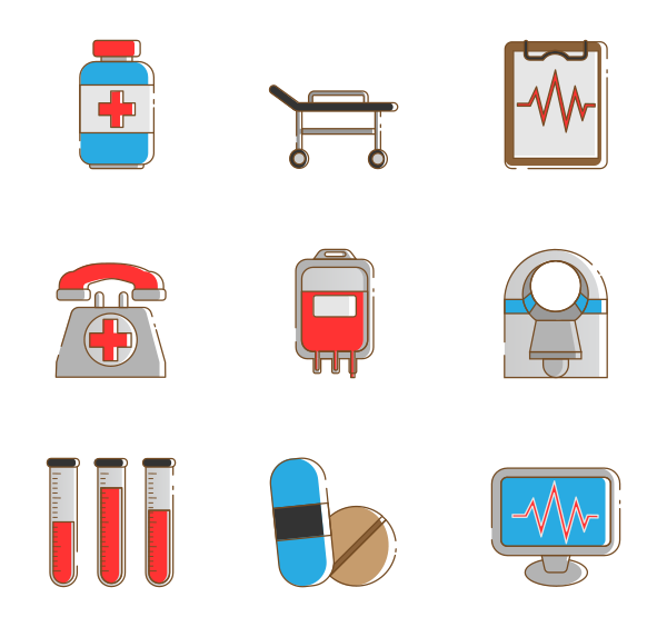医疗保健图标