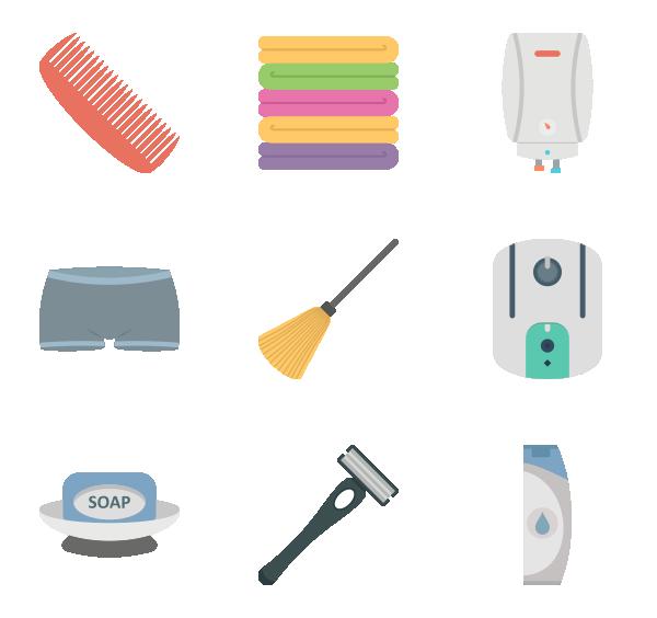 卫生间设备图标