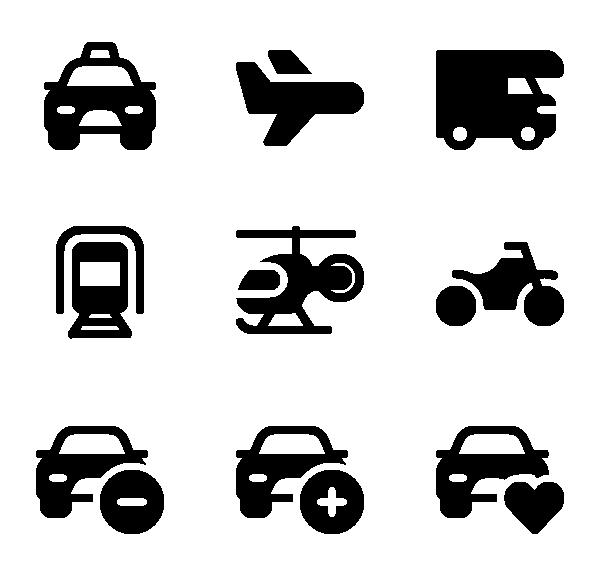 车辆运输图标