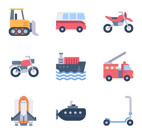 交通车辆图标