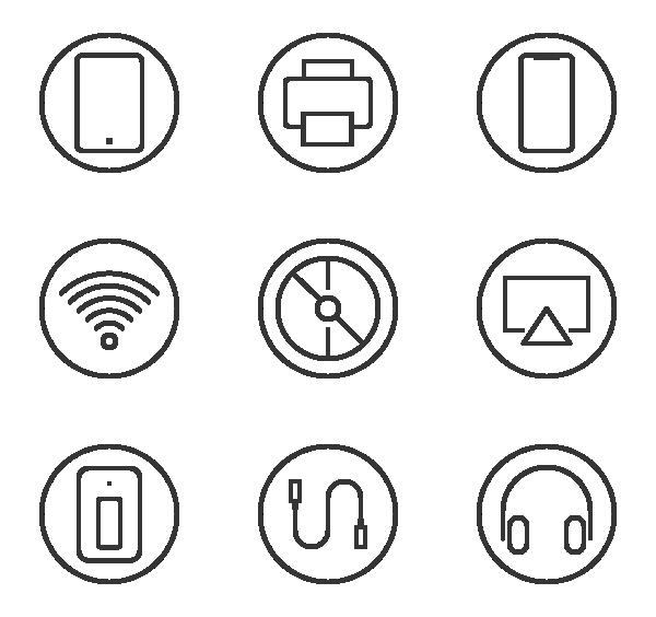 电子技术图标