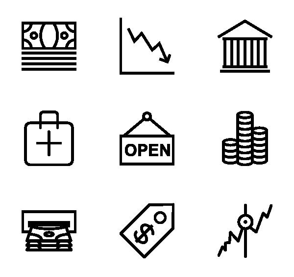 购物金融图标