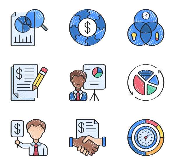 业务流程图标
