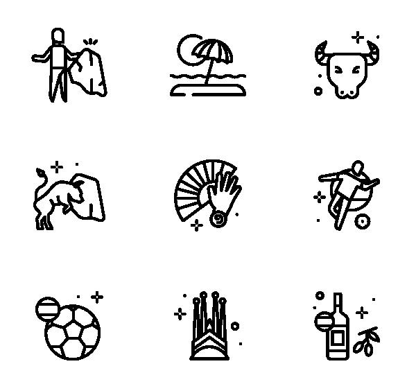 西班牙图标