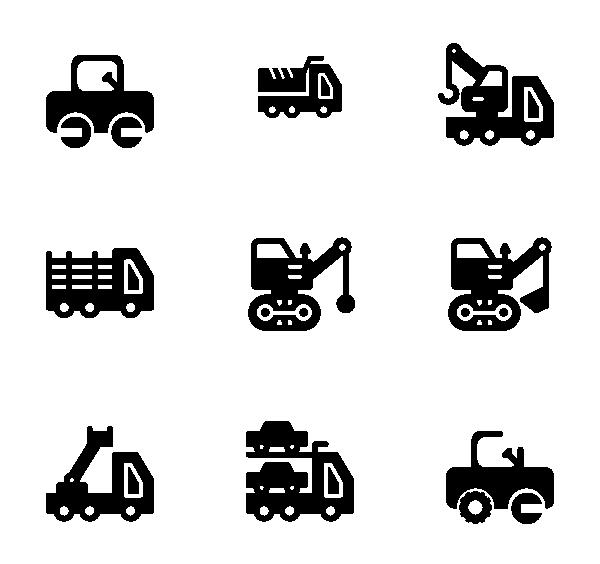 重型车辆图标