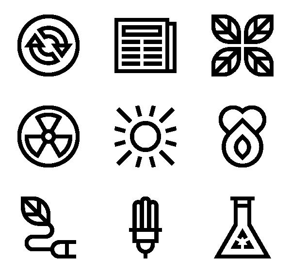环境能源图标