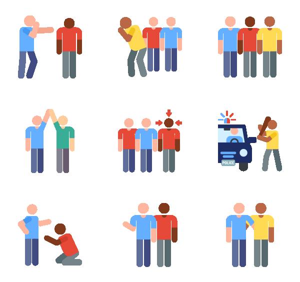 种族主义图标