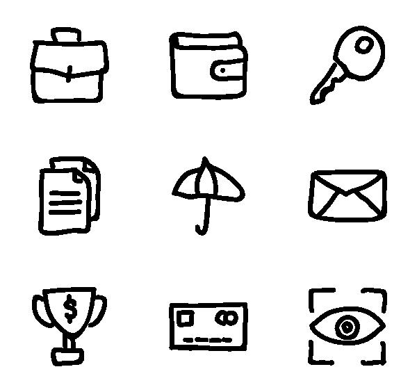 商务金融图标