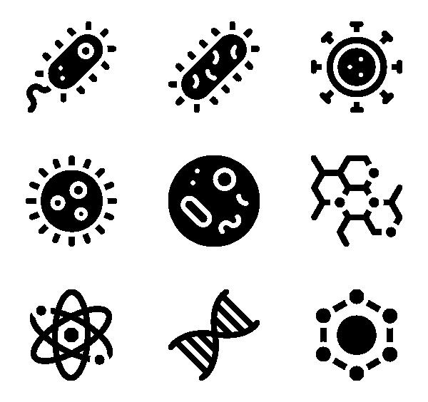 生物实验图标