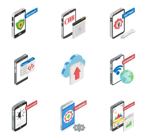 app开发图标