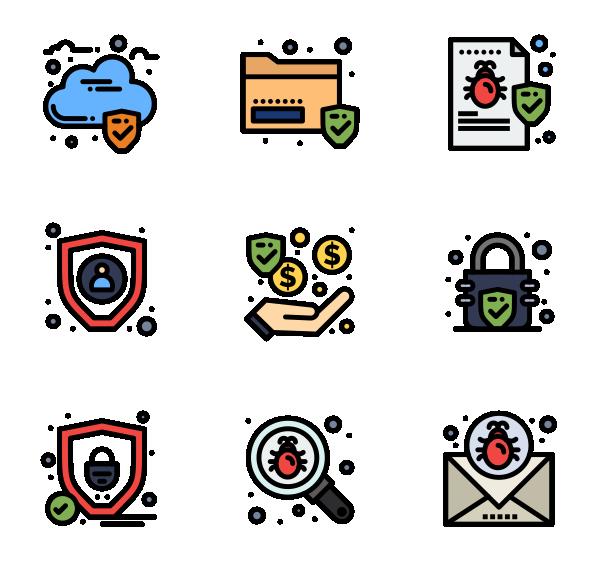 数据保护图标