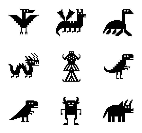 神话恐龙图标