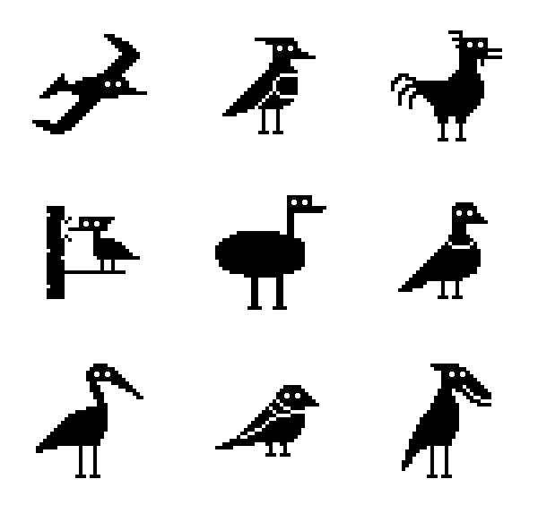 动物鸟类图标