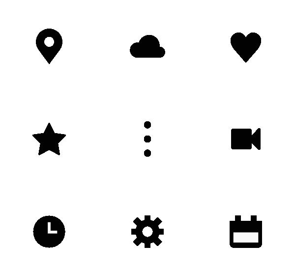 UI元素图标