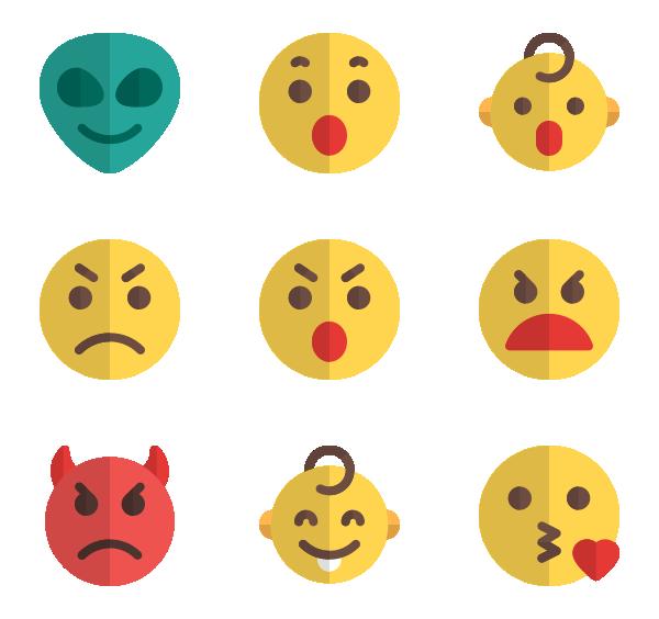 情绪表情图标
