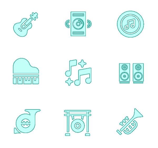 乐器(填充)图标
