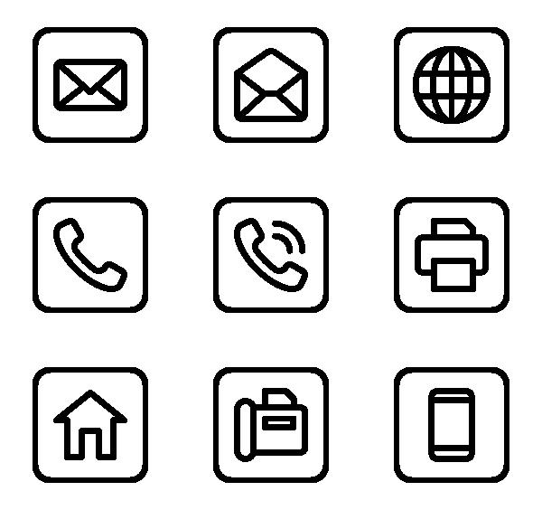 联系方式图标