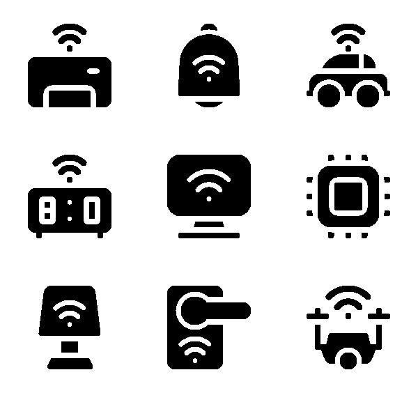 物联网图标