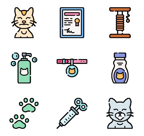 宠物猫图标