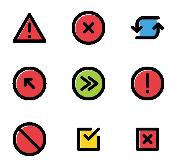 符号标志UI图标