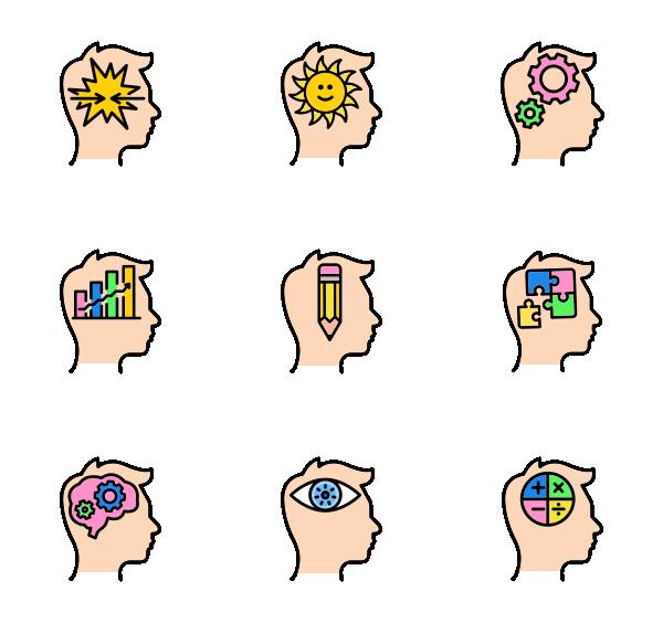 思维过程图标