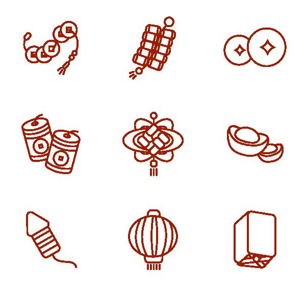 线春节图标