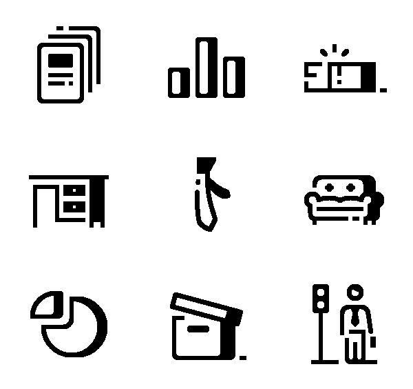 办公元素图标