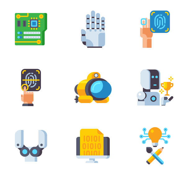 机器人图标