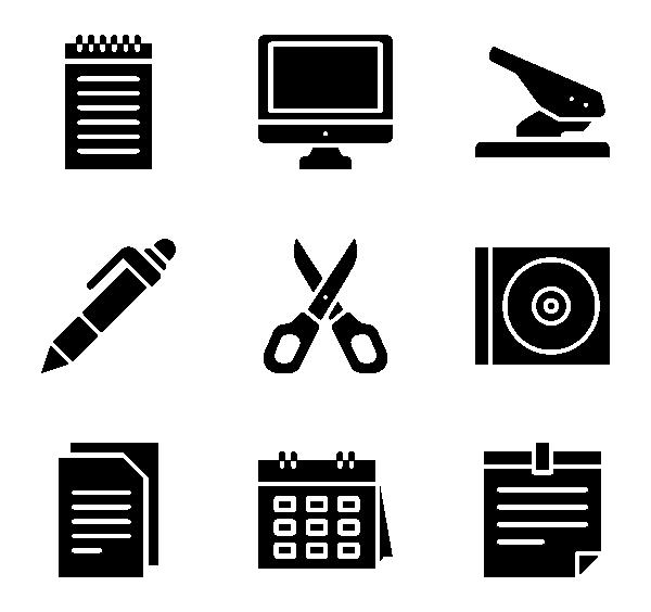 办公文具图标