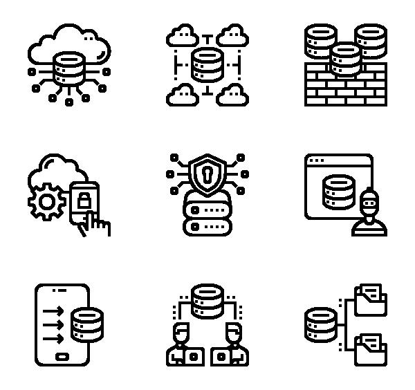 网络技术图标