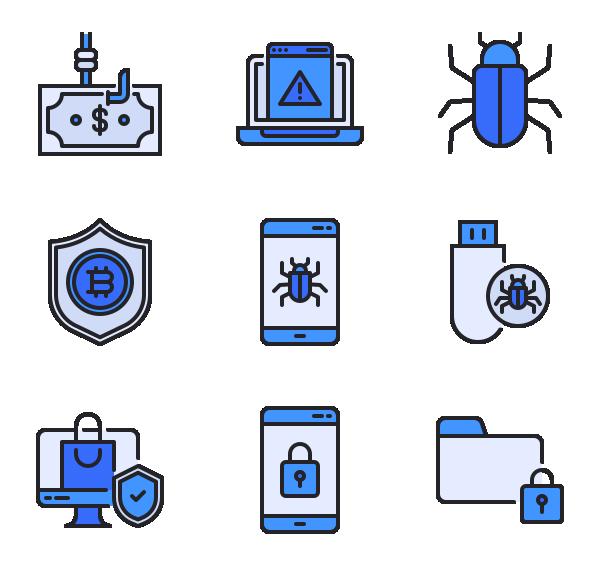 网络安全图标