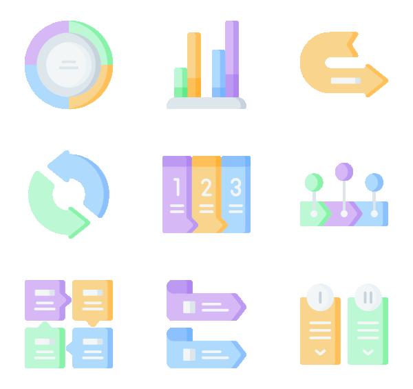 箭头和信息图元素