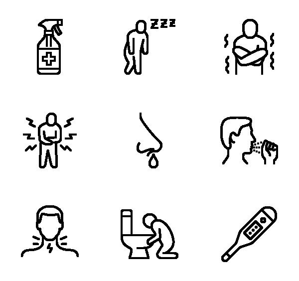 冠状病毒流感症状