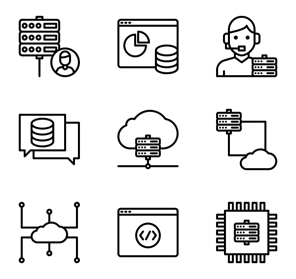 网站托管图标
