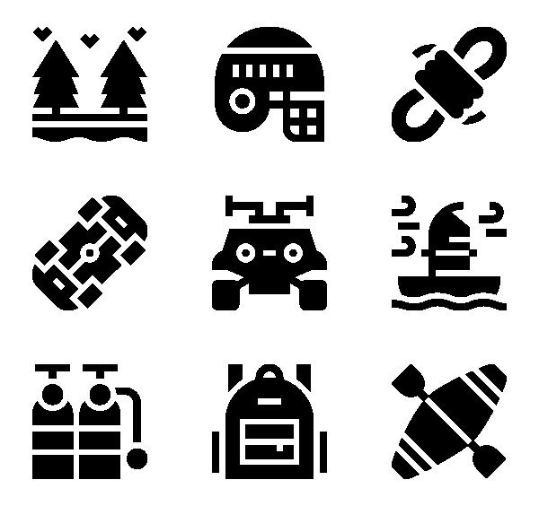 极限运动图标