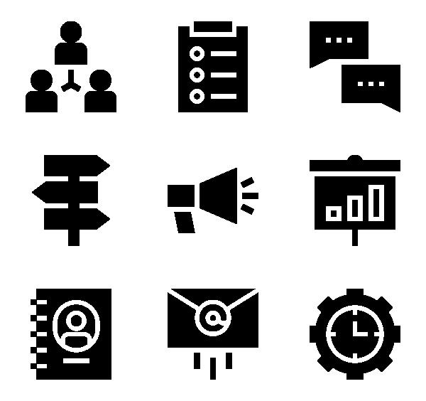 任务与项目管理图标