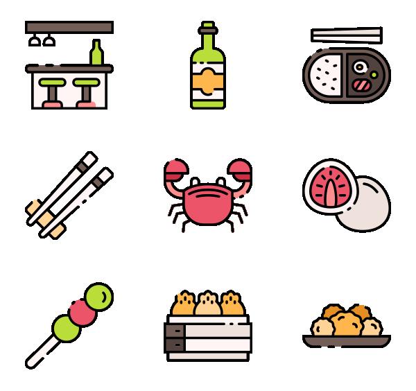 日本食品图标