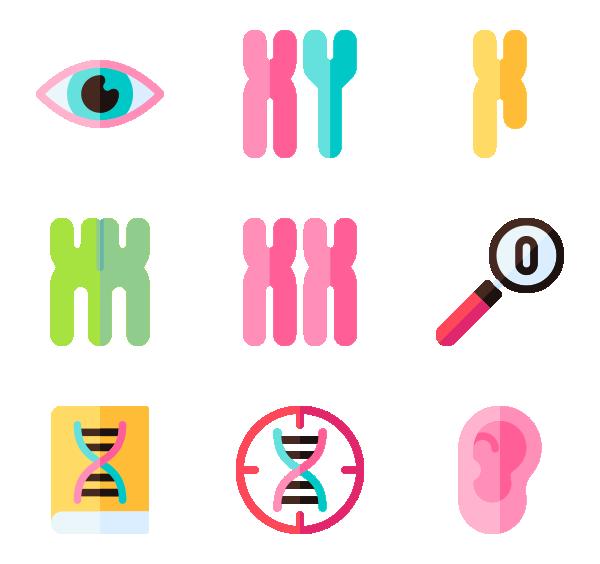 遗传学图标