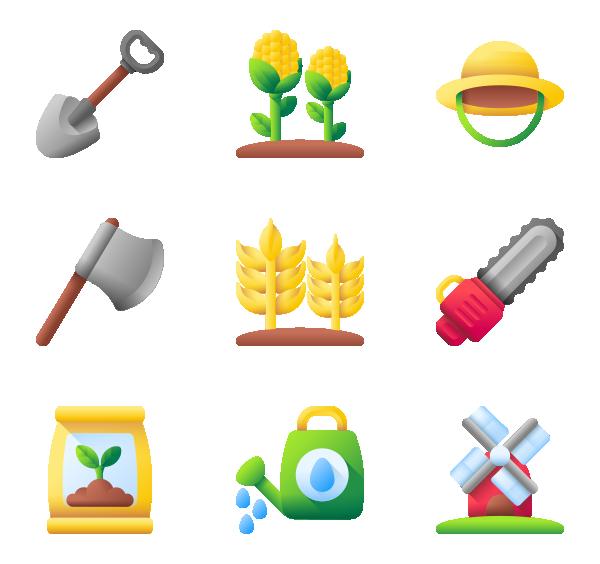 农业标志图标