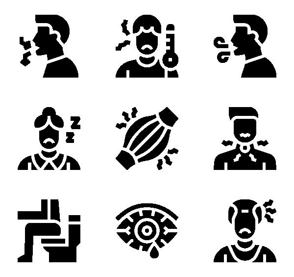 冠状病毒症状