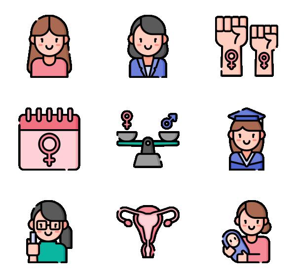 女权主义图标