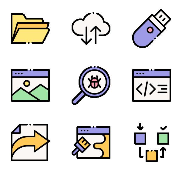 网页开发图标