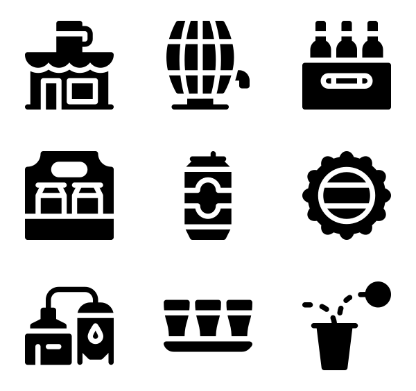 国际啤酒日图标